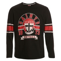 AFL Youth Printed L/S Tee St Kilda Saints