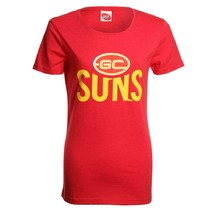 AFL Ladies Printed Logo Tee Gold Coast