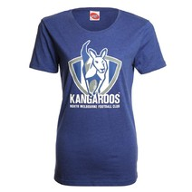 AFL Ladies Printed Logo Tee Kangaroos