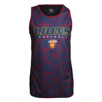 Brisbane Lions Mens Tech Singlet
