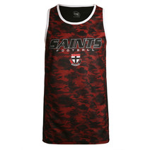 St Kilda Saints Mens Tech Singlet