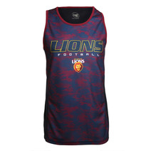 Brisbane Lions Youth Tech Singlet