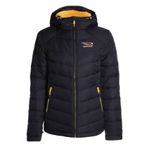 West Coast Eagles Ladies Hodded Down Jacket