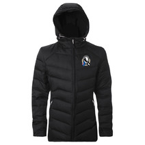 Collingwood Magpies Mens Hooded Down Jacket
