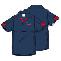 AFL Men's SHD Polo Adelaide Crows