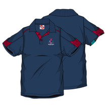 AFL Men's SHD Polo Melbourne Demons