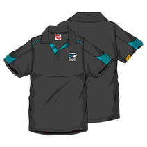 AFL Men's SHD Polo Port Adelaide Power