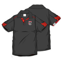 AFL Men's SHD Polo St Kilda Saints