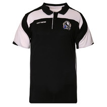AFL Mens Premium Polo Collingwood Magpies