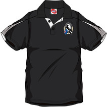 AFL Mens SHD Polo Collingwood Magpies