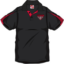 AFL Mens SHD Polo Essendon Bombers
