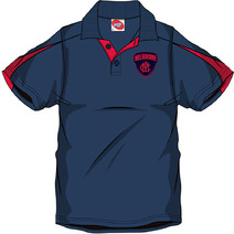 AFL Mens SHD Polo Melbourne Demons