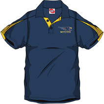 AFL Mens SHD Polo West Coast Eagles