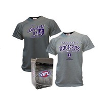 Fremantle Dockers 2014 Mens 2 T-Shirts In A Tin Set