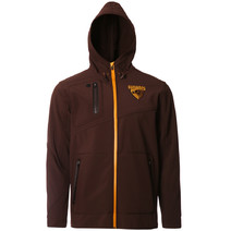 Hawthorn Hawks Mens Premium Soft Shell Jacket