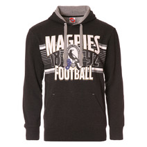 AFL Mens Pullover Hood Collingwood Magpies