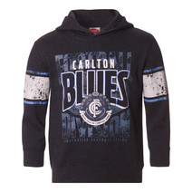 AFL Youth Pullover Hood Carlton Blues