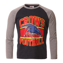 AFL Youth Long Sleeve Tee Adelaide Crows