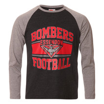 AFL Youth Long Sleeve Tee Essendon Bombers