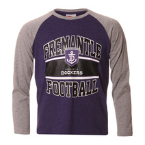 AFL Youth Long Sleeve Tee Fremantle Dockers