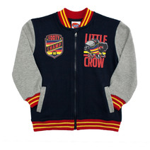 Adelaide Crows Toddlers Varsity Zip Top