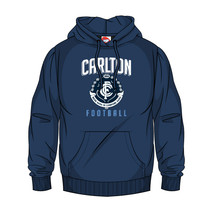 AFL SHD Youth Supporter Hood Carlton Blues