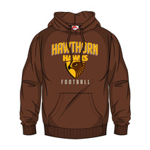 AFL SHD Youth Supporter Hood Hawthorn Hawks