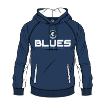 AFL Mens SHD Premium Hood Carlton Blues