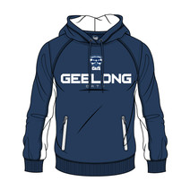 AFL Mens SHD Premium Hood Geelong Cats