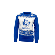 North Melbourne Kangaroos Youth Ugly Sweater