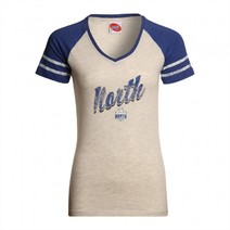 North Melbourne Kangaroo Ladies Supporter V-neck tee