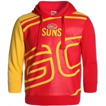 Gold Coast Suns Youth Supporter Pullover Hood