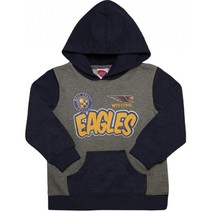 West Coast Eagles Toddlers Supporter Pullover Hood
