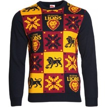 Brisbane Lions Mens Ugly Sweater