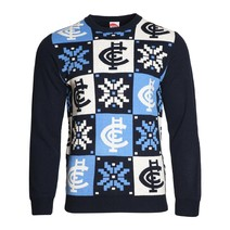 Carlton Blues Mens Ugly Sweater