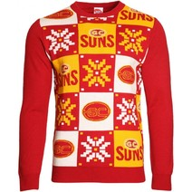 Gold Coast Suns Mens Ugly Sweater