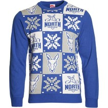 North Melbourne Kangaroos Mens Ugly Sweater