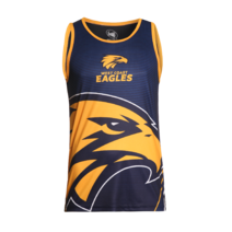 West Coast Eagles Summer 2017/2018 Mens Training Singlet