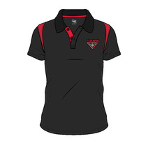 Essendon Bombers 2018 AFL SHD Mens Embroided Polo