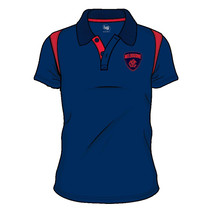 Melbourne Demons 2018 AFL SHD Mens Embroided Polo