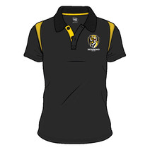 Richmond Tigers 2018 AFL SHD Mens Embroided Polo