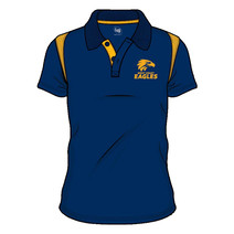 West Coast Eagles 2018 AFL SHD Mens Embroided Polo