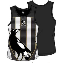 Collingwood Magpies 2018 SHD Mens Training Singlet