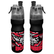Essendon Bombers AFL Misting Drink Bottle