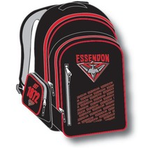 Official AFL Essendon Bombers Youth Backpack
