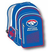Official AFL Western Bulldogs Youth Backpack