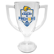West Coast Eagles 2018 Premiers Glass Trophy