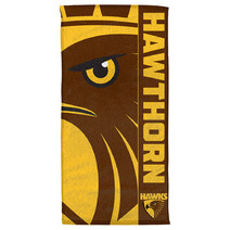 Hawthron Hawks AFL Beach Towel