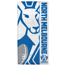 North Melbourne Kangaroos AFL Beach Towel