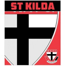 AFL Polar Fleece Rug St Kilda Saints